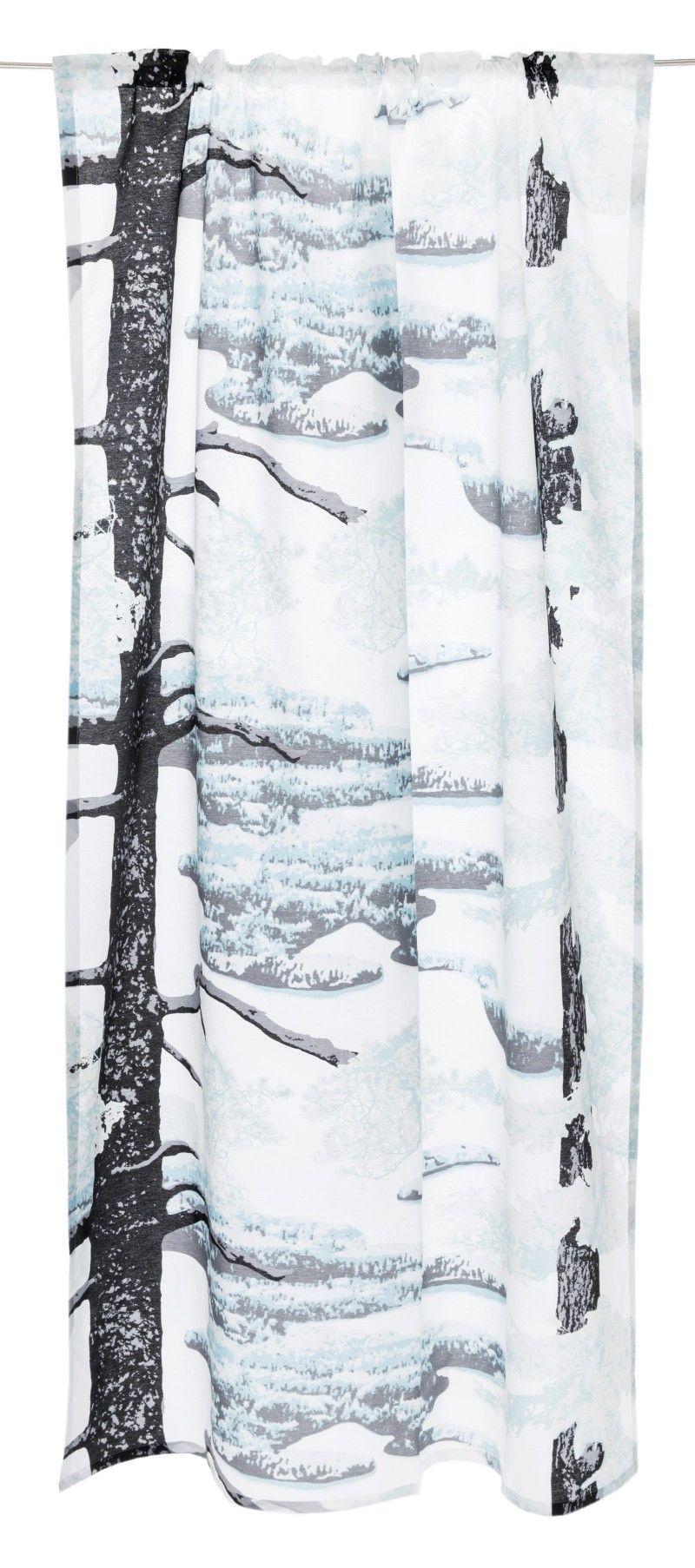 <p><span>Punkaharju Classic -valmisverhon kuosi taltioi otoksen kaunista suomalaista kansallismaisemaa harjulta alas katsottuna. Vahvojen puunrunkojen välistä avautuu komea ja rauhoittava järvi- ja saarimaisema. Kuosin on suunnitellut Riina