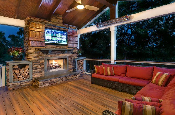 Image result for simple outdoor tv barn door | Yard ...