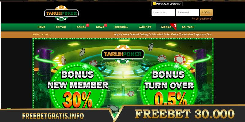 Freebet Poker 2021