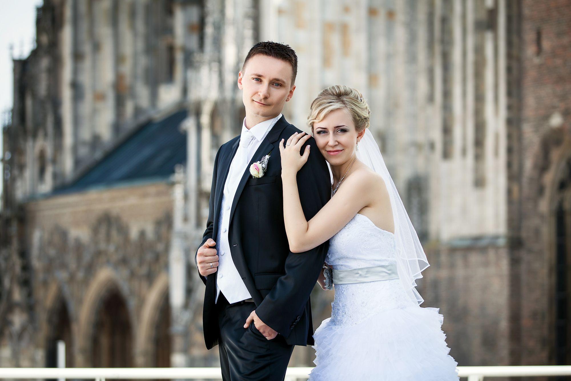 Hochzeitspaar, Braut und Bräutigam, Liebe
