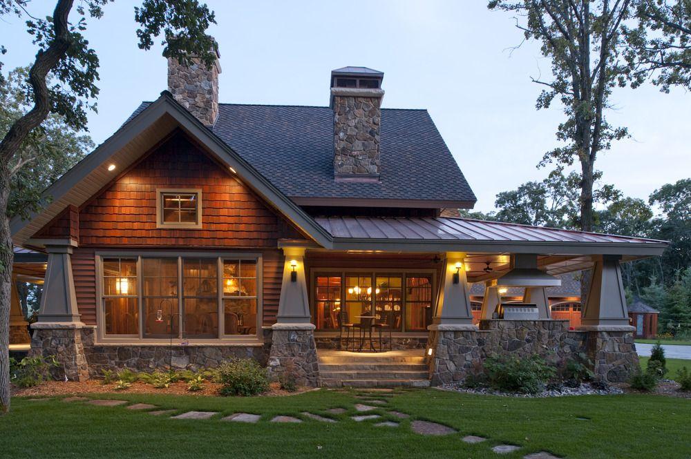 roof line, siding, windows, stone   nor-son