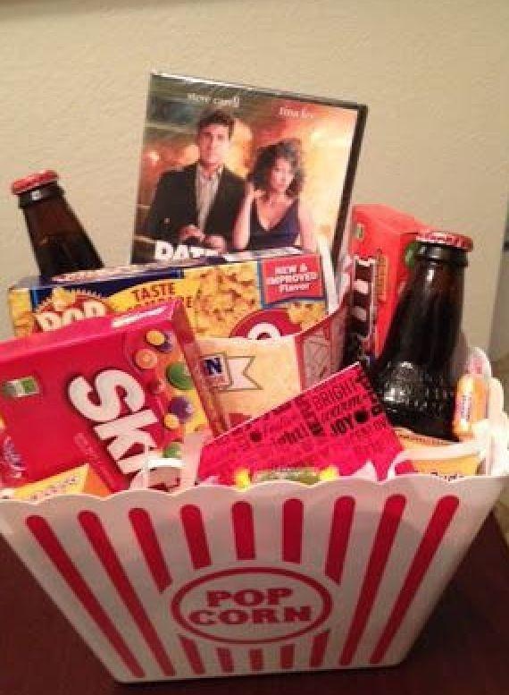 Film Night Box Cute Gifts Diy Christmas Gifts Diy