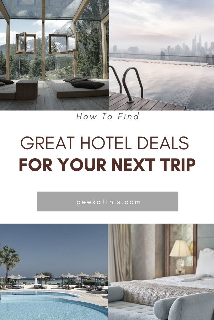 Money is tough to come by for many of us, and finding a great hotel deal on Travel is hard to come by. Read more here to find ways to find great hotel deals for 2020. How To Find Great Hotel Deals For 2020   Peek At This # cheaphotelrates #hotelbookingsites #greathotelrates #findthebesthotelprice #findinggreathoteldeals