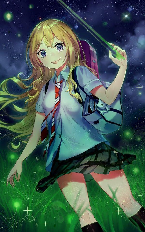 Miyazono Kaori Your Lie In April Shigatsu Wa Kimi No Uso Your Lie In April Anime Me Me Me Anime