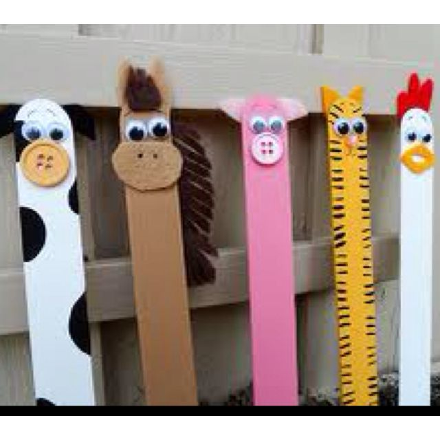 Popsicle Farm Animals Activities For Kids Kid Projects