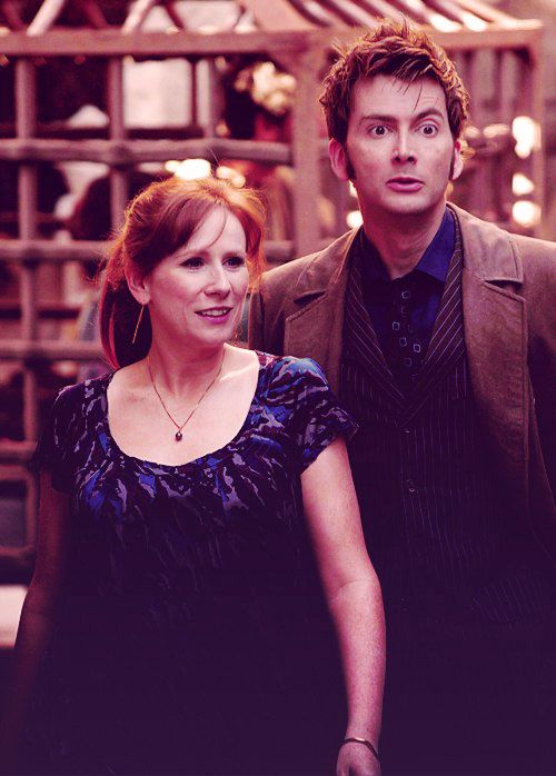 {10 and Donna.} Love them (David's face tho) <3