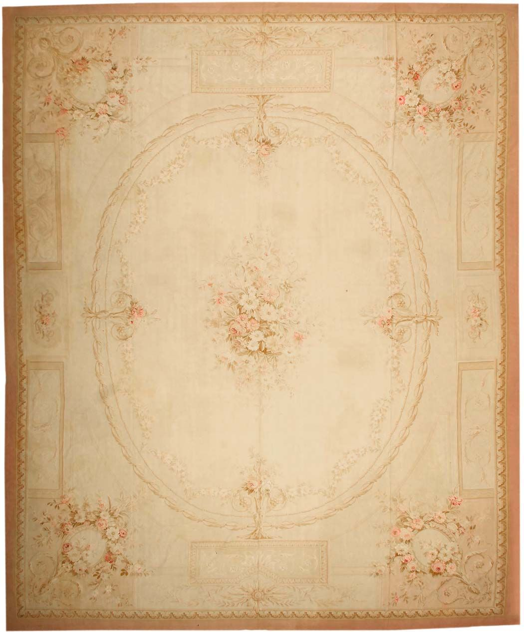 Antique Aubusson French Rugs #43633  http://nazmiyalantiquerugs.com/antique-rugs/aubusson/