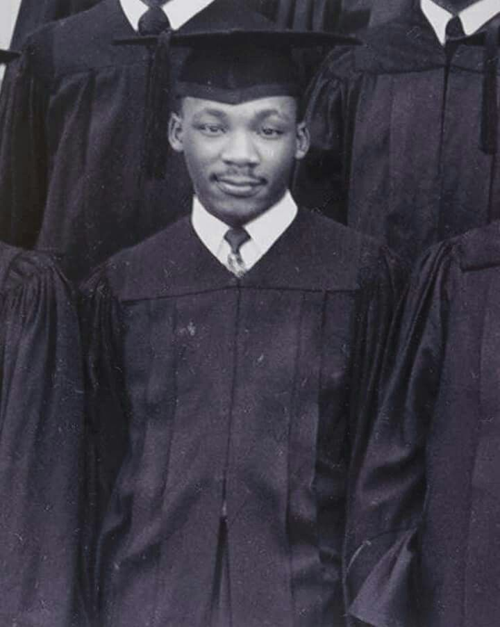 MLK graduated from Morehouse in 1948