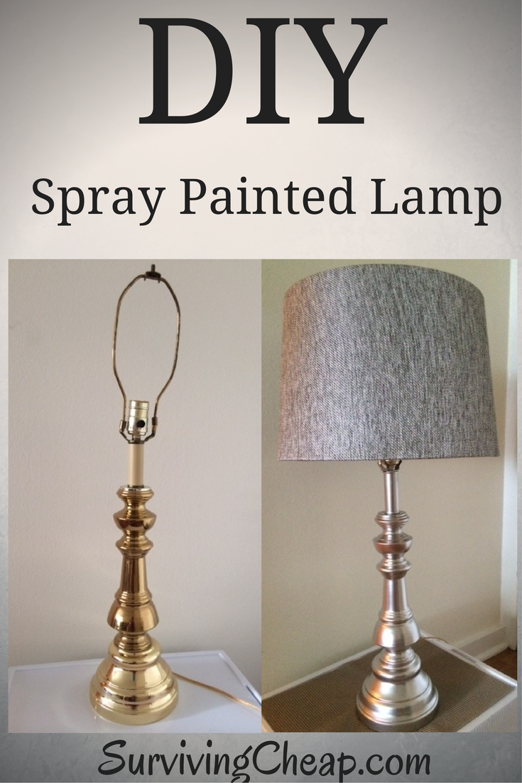 How to step buy step guide to diy refurbish a metal lamp with spray how to step buy step guide to diy refurbish a metal lamp with spray paint arubaitofo Choice Image