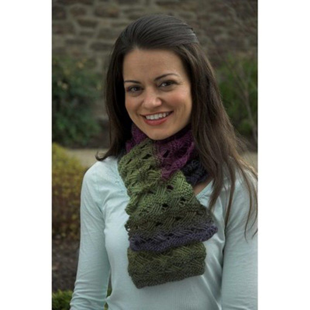 Scarf in Plymouth Gina - F428. Discover more Patterns by Plymouth ...