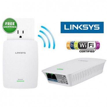 Linksys N600 Pro Dual-Band Wi-Fi Range Extender w/ Easy Setup & QoS