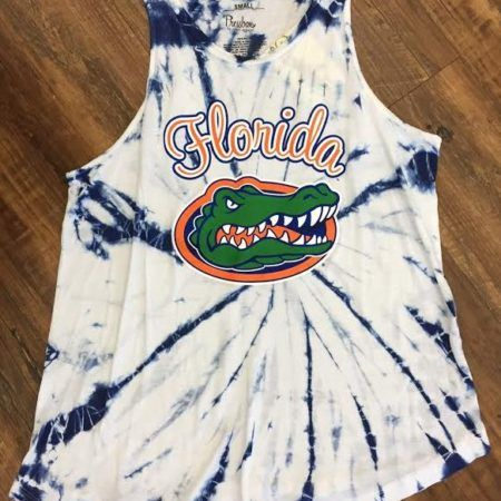 0f6b0720394bc8 Florida Gators tie dye womens tank top