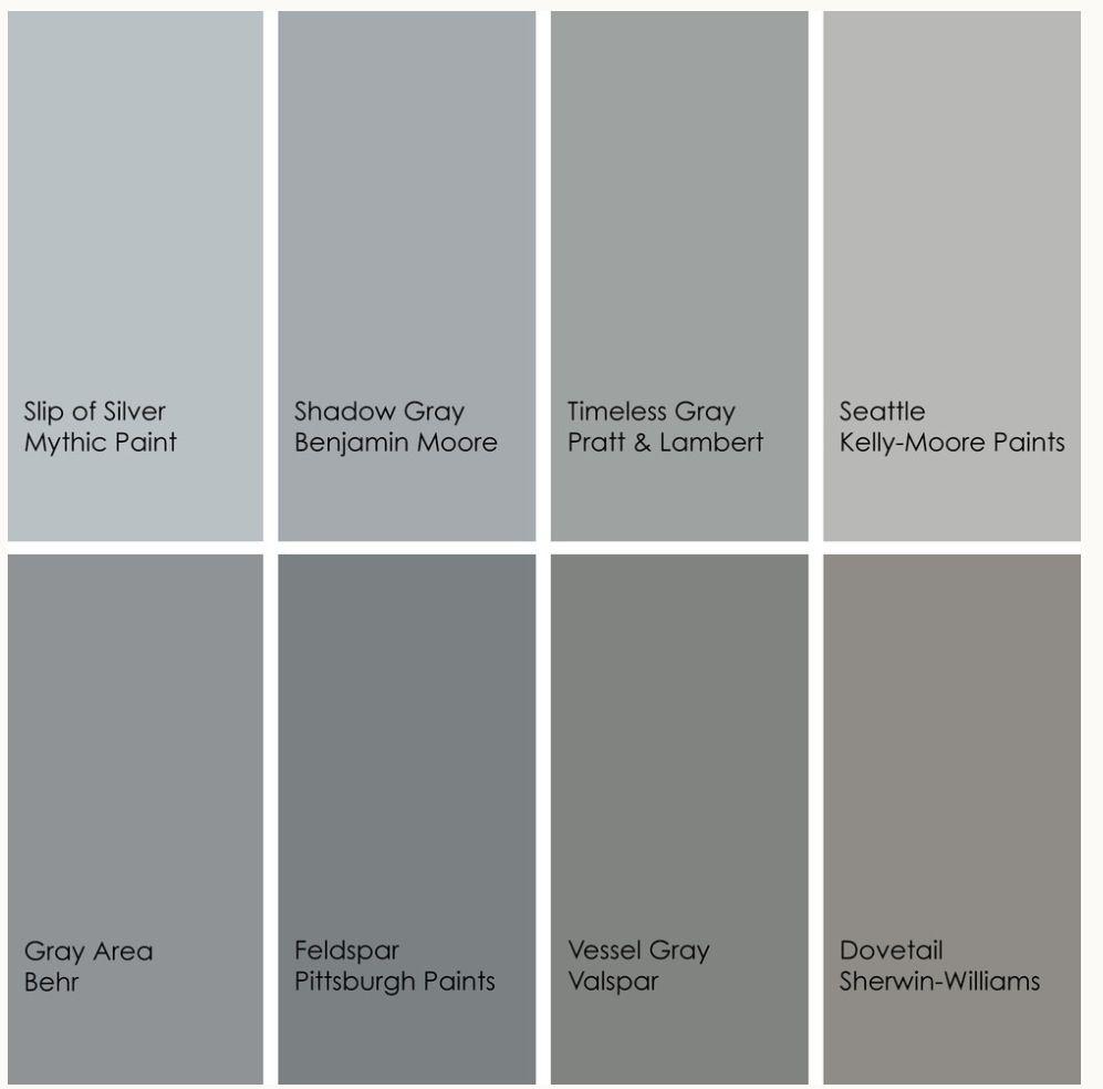 Grey tones | COLOR | Pinterest | Paint colors, Grey paint ...
