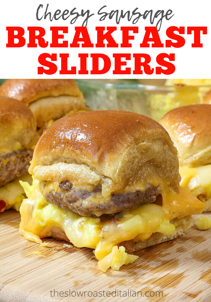 Photo of Cheesy Sausage and Egg Breakfast Sliders