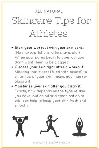 The Best Natural Skin Care Tips For The Athlete Skin Routine Dry Skin Care Natural Skin Care