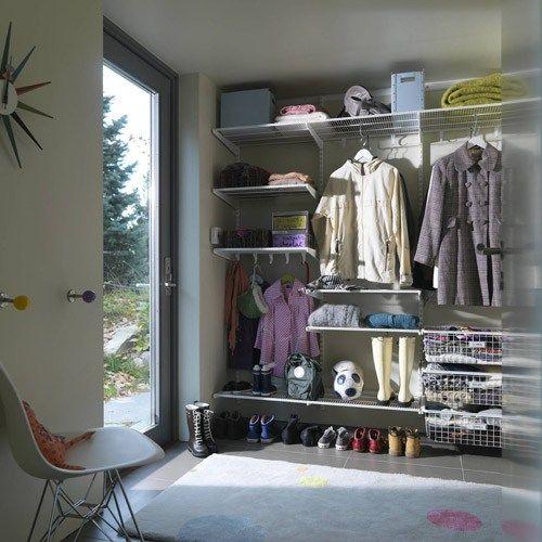 Förvaringssystem Elfa 4 Favorit Garderober, Hall och Produkter