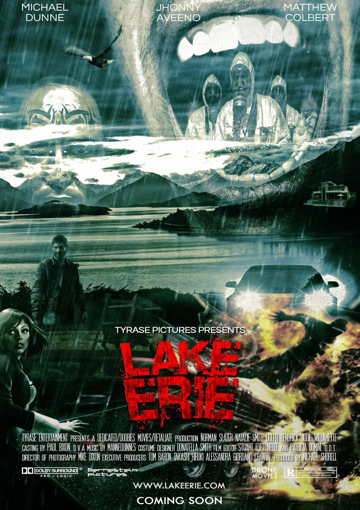 TITLE: LAKE ERIE GENRE: THRILLER/HORROR: LOGLINE: A