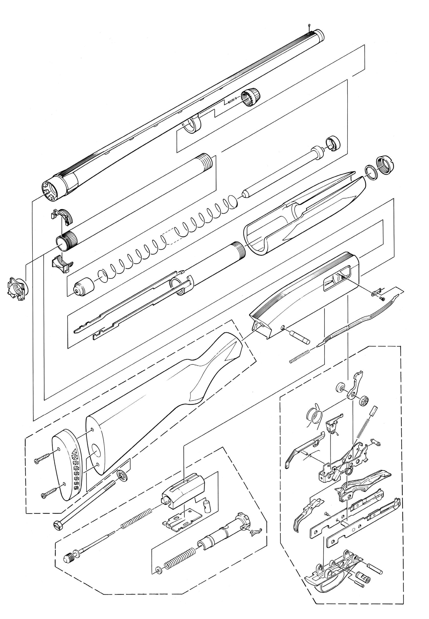 Winchester Model 1300 Diagram - Information Of Wiring Diagram •