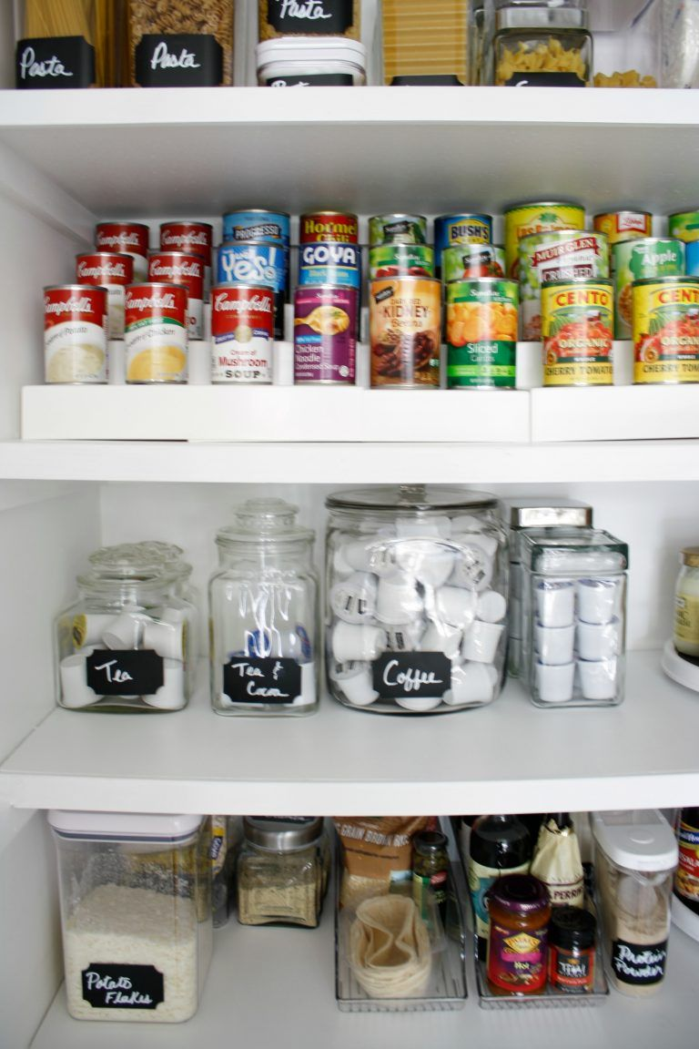 My Version Of Tidying Up The Pantry Tidy Up Tidying Closet Design
