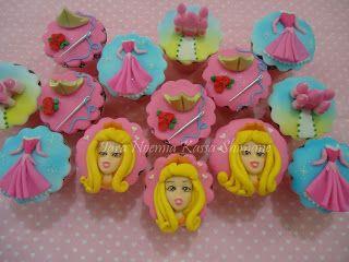 Bendito Açúcar (Iara Bolos): Princesa Aurora a Bela Adormecida