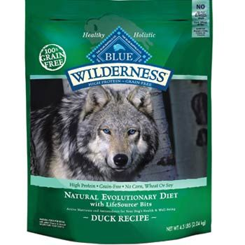 Blue Buffalo Blue Wilderness Adult Duck Recipe Dry Dog Food 24