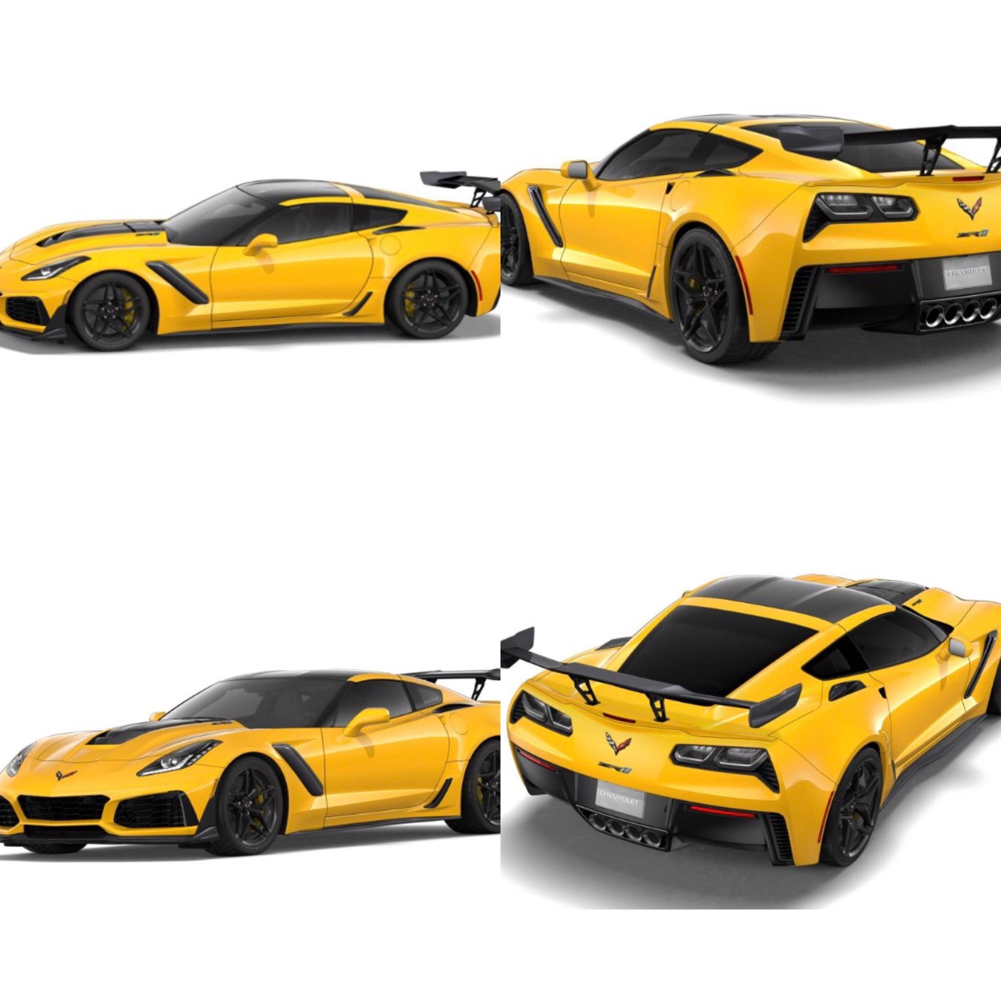 Corvette Zr1 3zr With Ztk Track Performance Package Dual Carbon Fiber Roof 8 Speed Automatic Transmission Competition S Corvette Zr1 Chevy Corvette Corvette