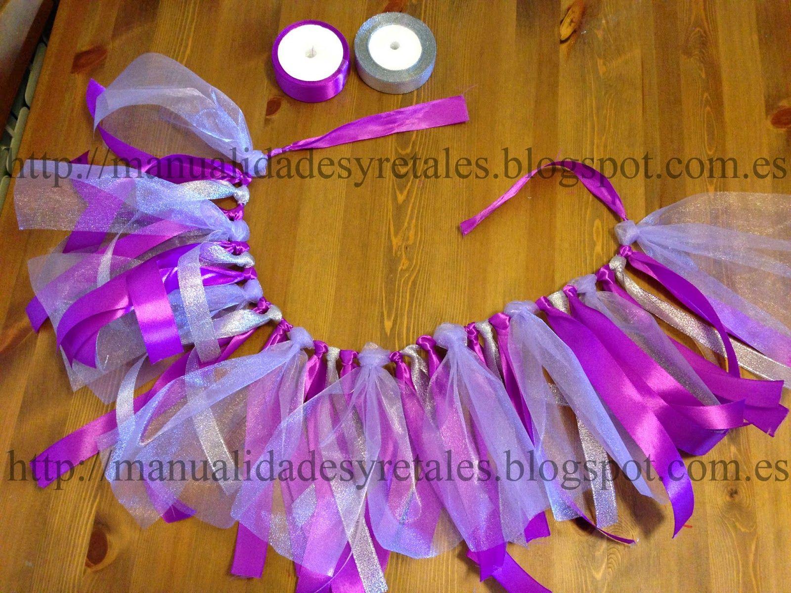 Falda lazo carnaval disfraz sin coser facil y economico - Lazos para bebes ...