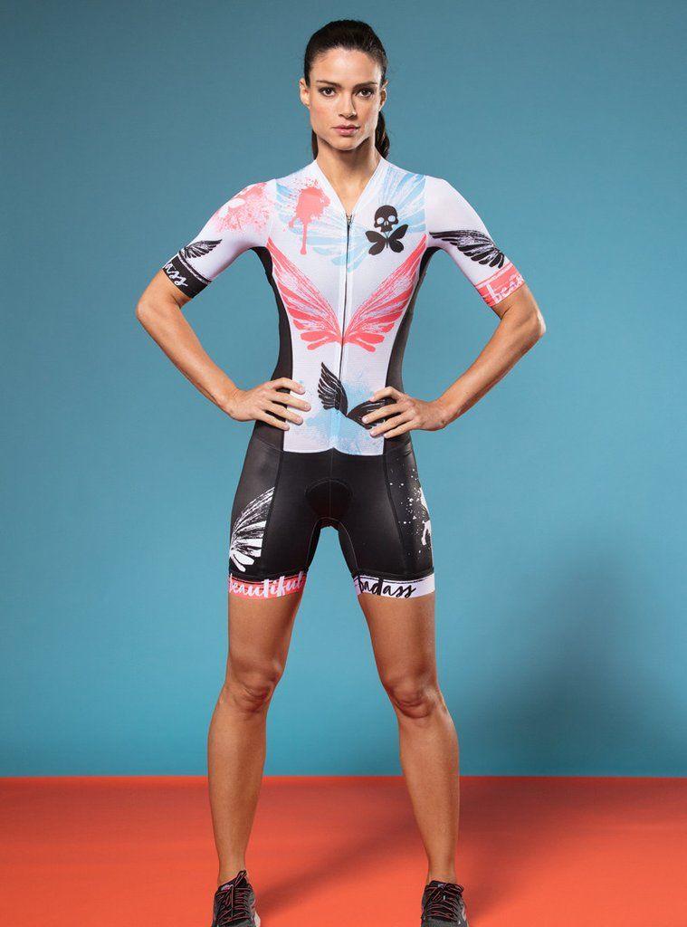 betty x SR Aero Mesh Short Sleeve Tri Skinsuit  a10185403