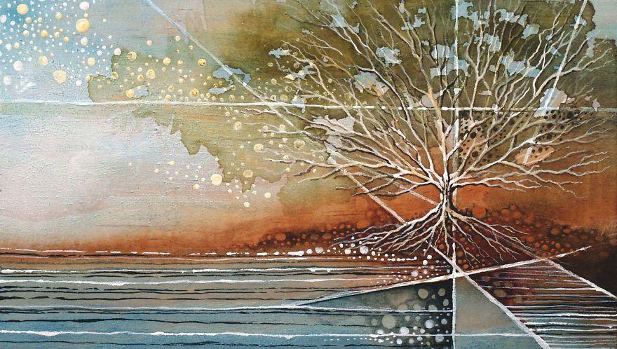 I Make Fantastical Nature Inspired Illustrations Painting