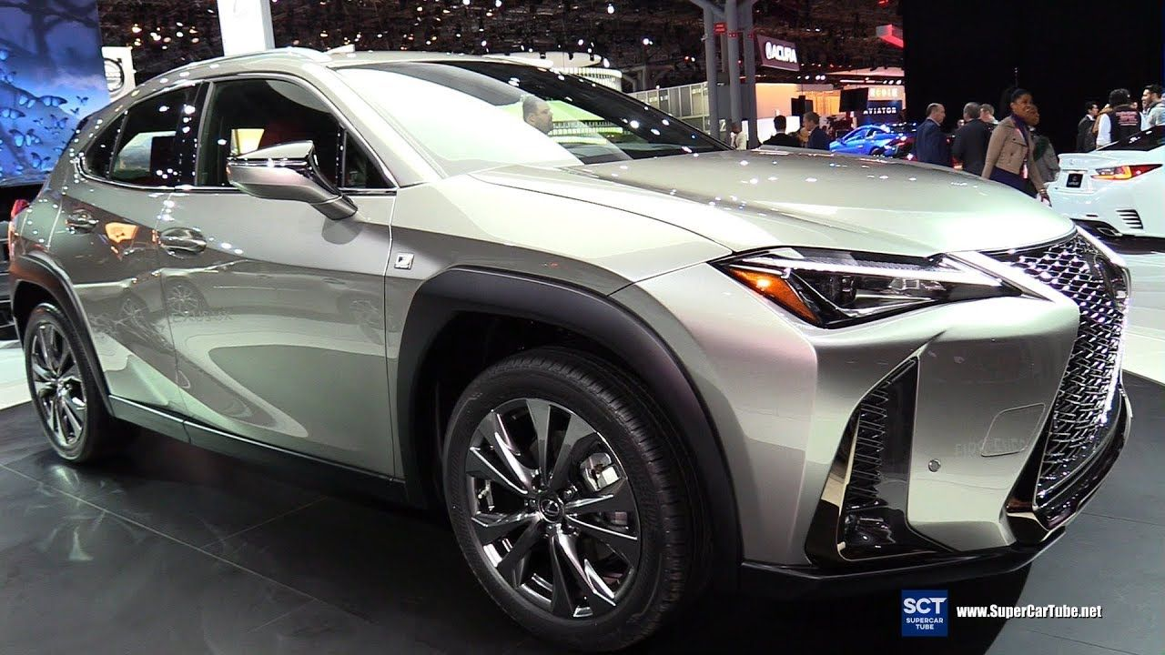 2019 Lexus UX 200 F Sport Exterior and Interior