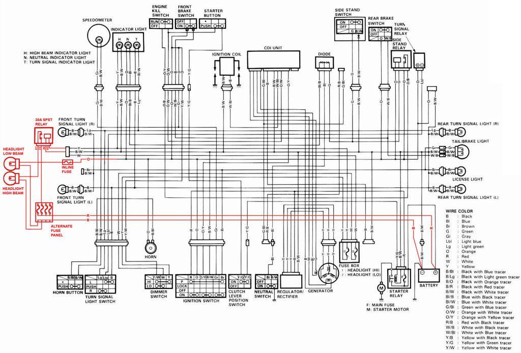 Bmw F650gs Electrical Wiring Diagram Electrical Wiring Diagram Electrical Diagram Motorcycle Wiring