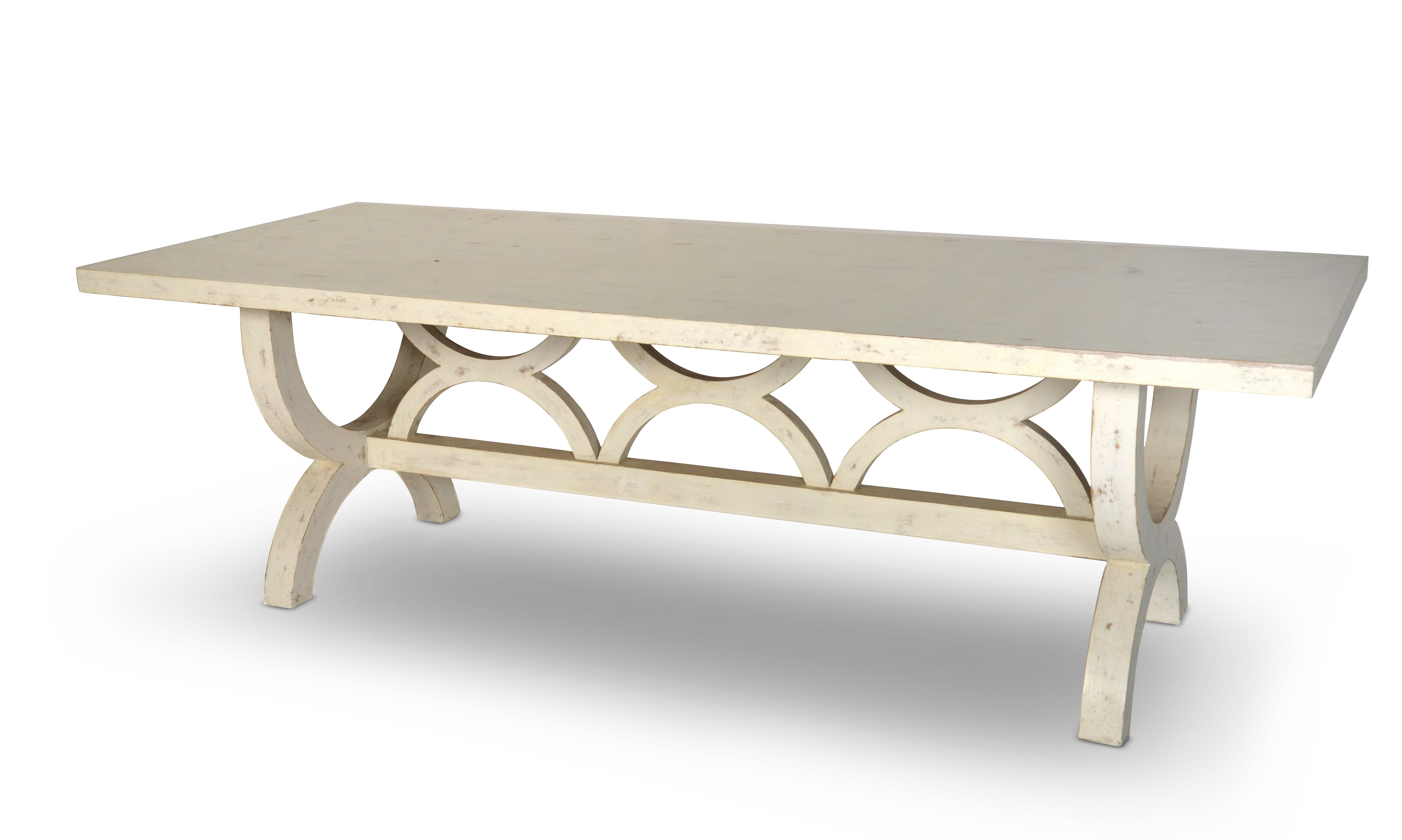 """D'Ambrosio Dining Table Dimensions: 30""""h x 96""""w x 40""""d Customization available Made in America"""