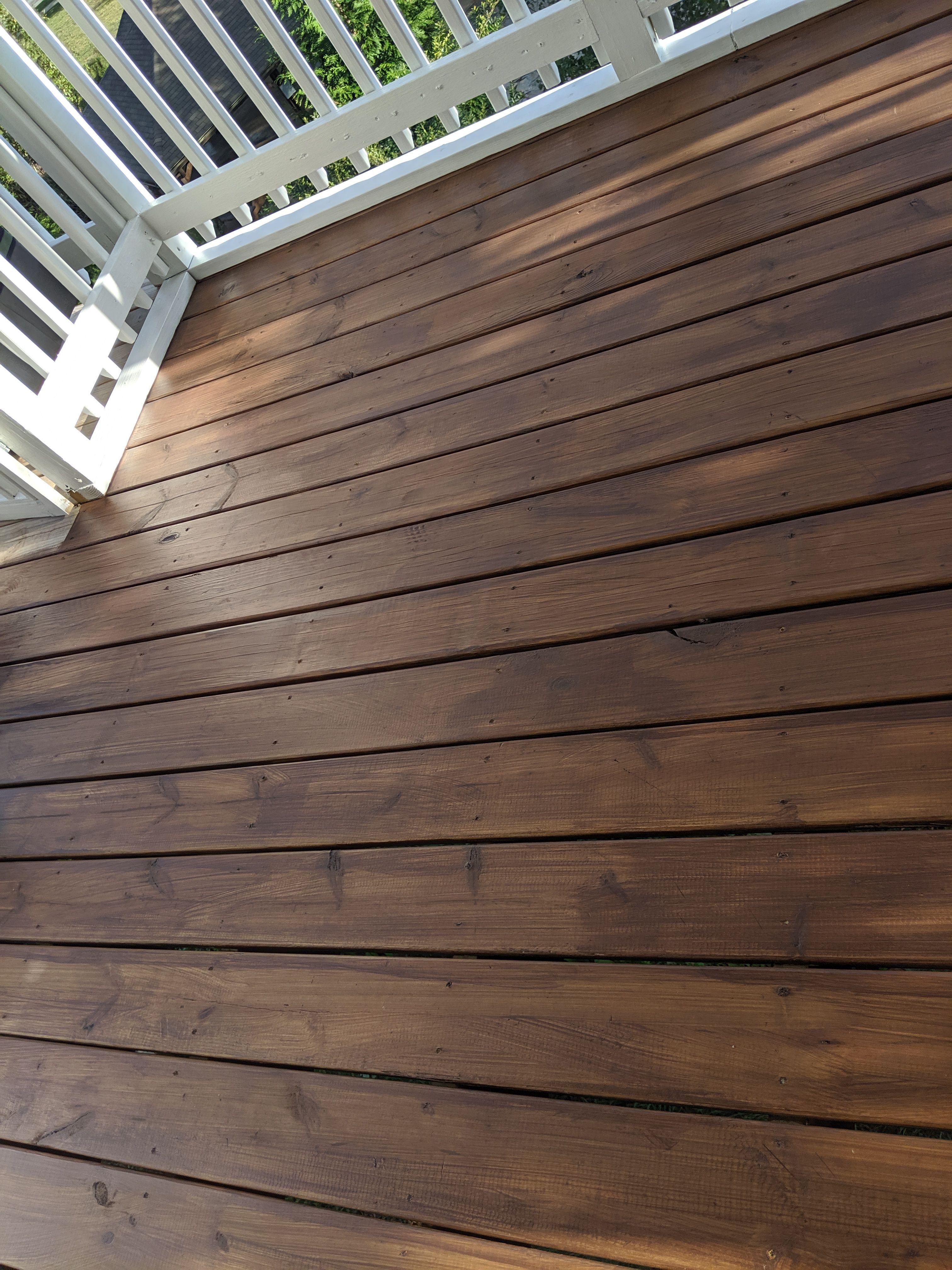 Benajamin Moore Arborcoat Semi Transparent Stain In Fresh Brew On New Wood Outdoor Wood Stain Deck Stain Colors Wood Deck Stain