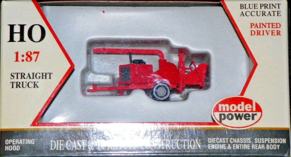 1947 COCA COLA DELIVERY BOTTLE TRUCK RED 1//87 HO SCALE BY MODEL BY MCC 440537