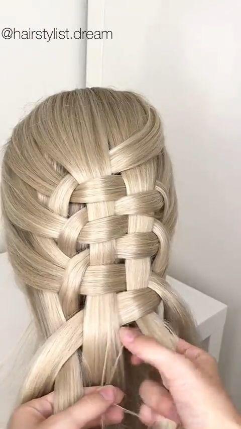 Strand Braid Tutorial In 2020 Hair Braid Videos Braided Hairstyles Long Hair Styles