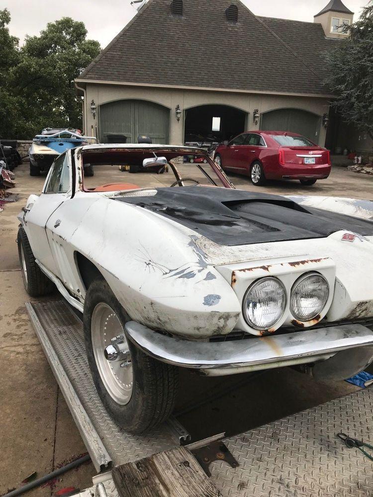 eBay: 1966 Chevrolet Corvette 1966 CORVETTE COUPE PROJECT