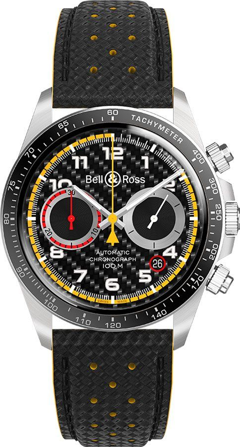 Bell & Ross Vintage BRV294-RS18/SCA #sportswatches
