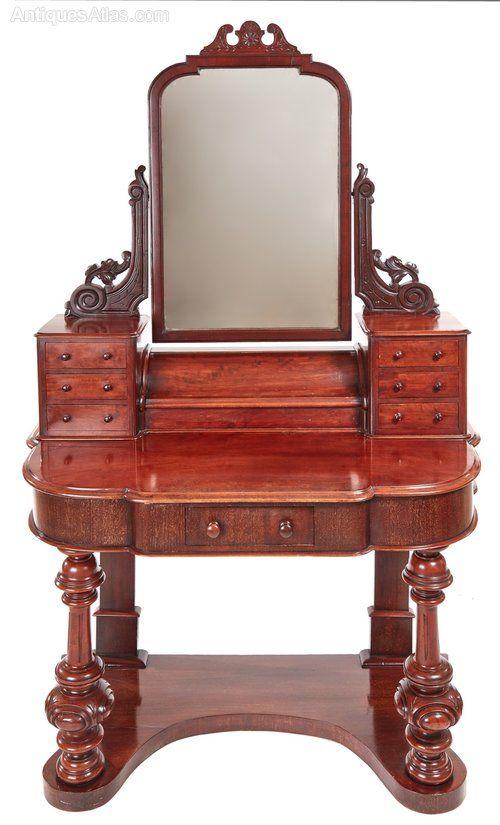 Victorian Mahogany Dressing Table Antique Furniture Victorian Furniture Antique Furniture For Sale