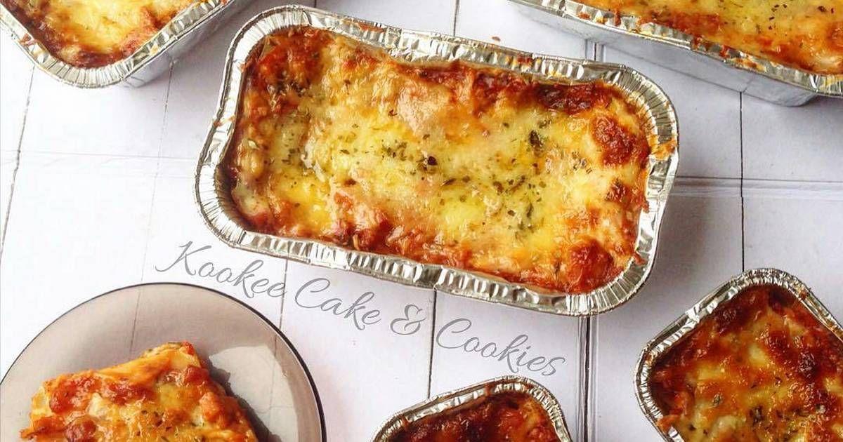 Resep Lasagna Oleh Kookee Cake Cookies Resep Lasagna Cemilan Resep