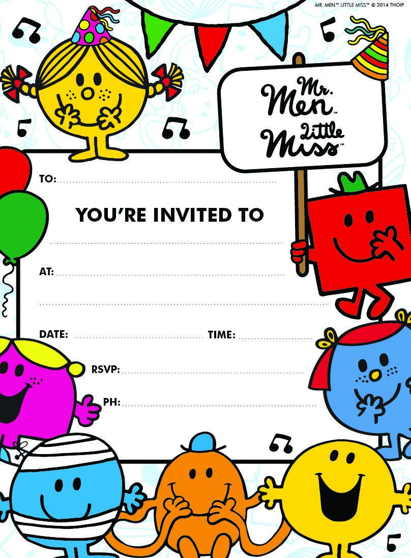E1420-Z-MR-MEN-INS.jpg (808×1095) | mr men little miss party ...
