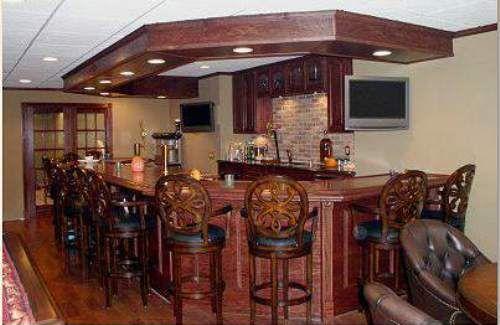 basement bars. kitchen and bars. image of home bars ideas