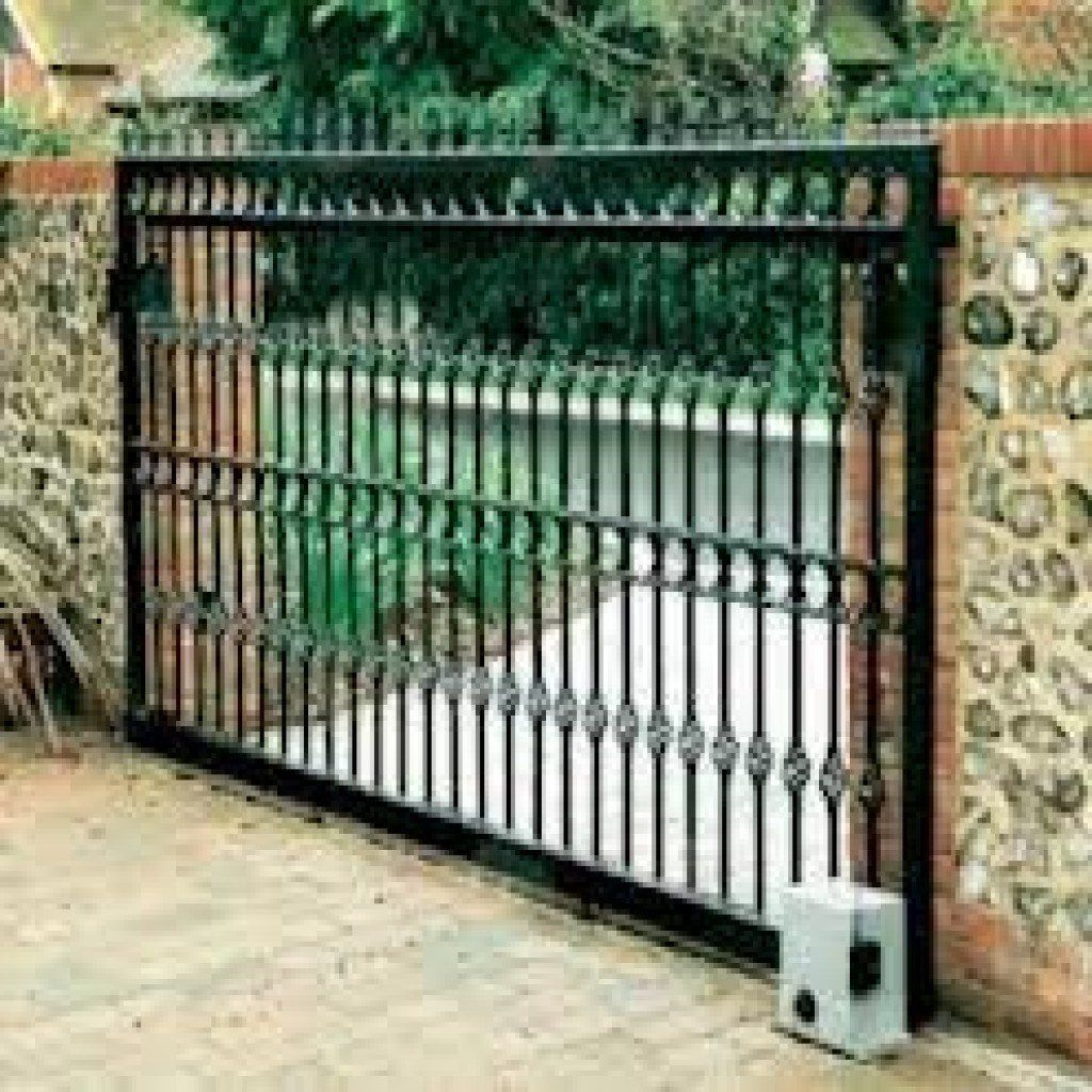 Wrought Iron Gates And Steel Barriers: Welded Awnings/Fence/Gates/Rail