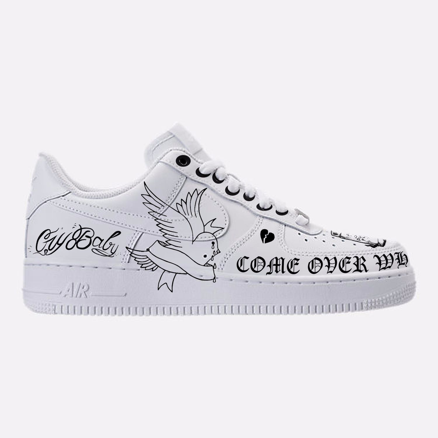 purchase cheap abb36 37a0e Nike Af1 · Sneakers · https   www.instagram.com peter pan cstms  shoes  model name