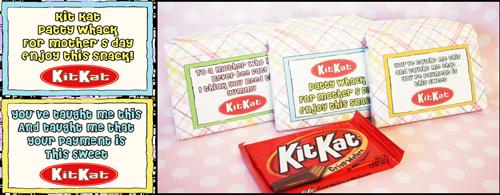 Mothers Day Kit Kat Gift Idea Teacher Appreciation