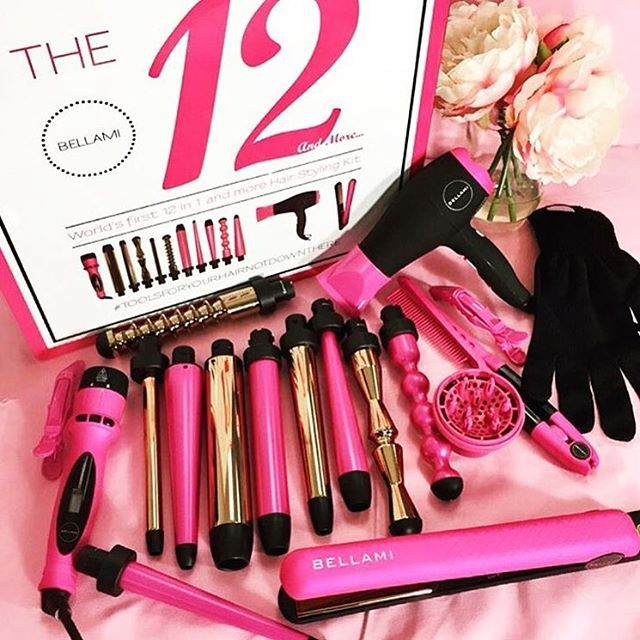 Bellami Hair On Instagram Magic Wands Our 12 In 1 And More Hair Styling Kit Has All You Ll Ever Need Or Want To Creat Style Kit Hair Styler Tools Bellami