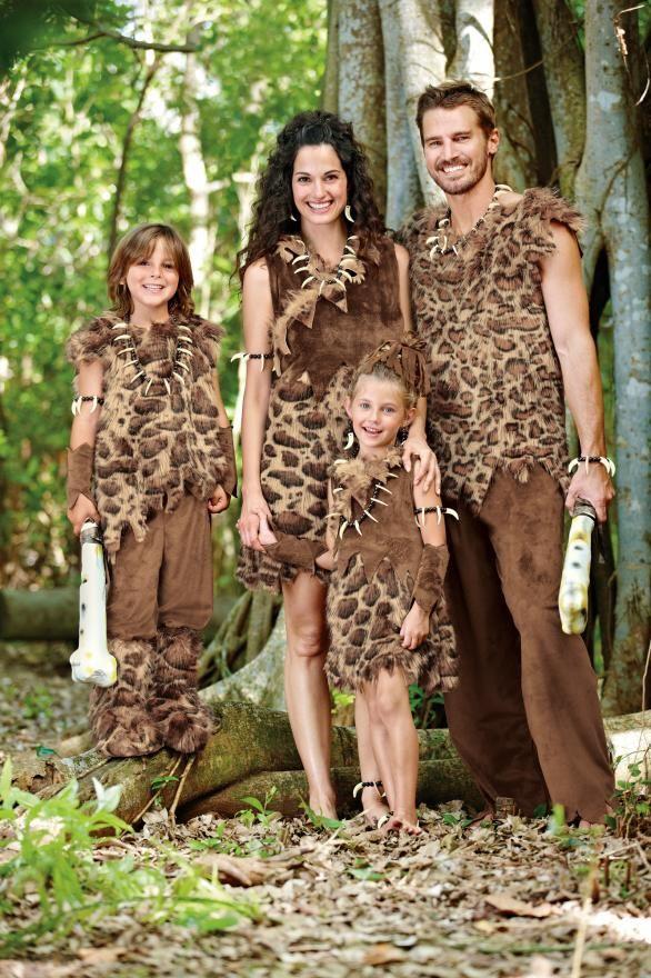 Men/'s jungle caveman cave man  costume//halloween