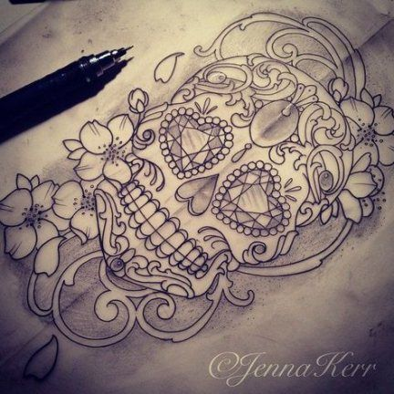 53+ Ideas Tattoo Rose Lace Sugar Skull -   - #BorneoTattoos #FlowerTattoos #Ideas #Lace #Rose #Skull #SkullTattooDesign #StarTattoos #Sugar #Tattoo