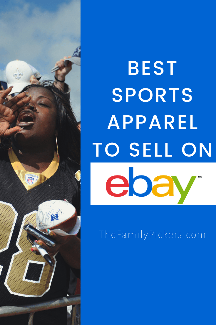Best Selling Sports Team Merchandise On Ebay With Images Sport Outfits