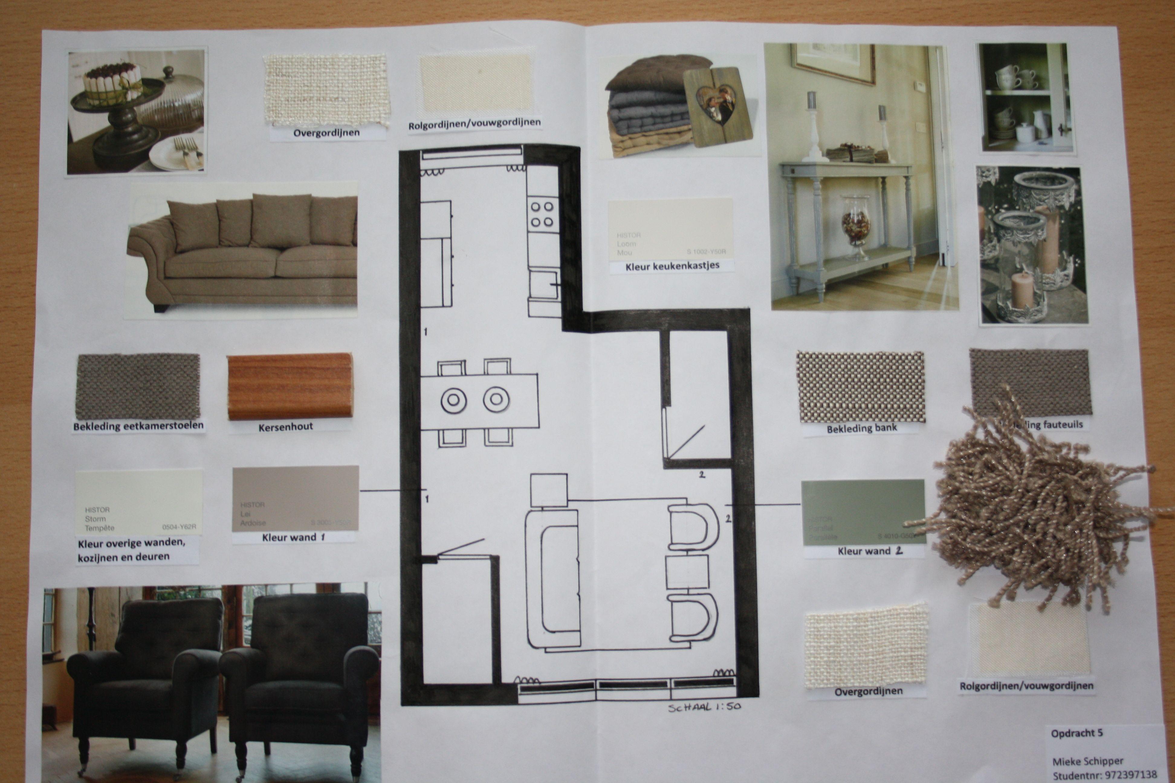 1000+ images about Kleuren- en materialenplan on Pinterest ...