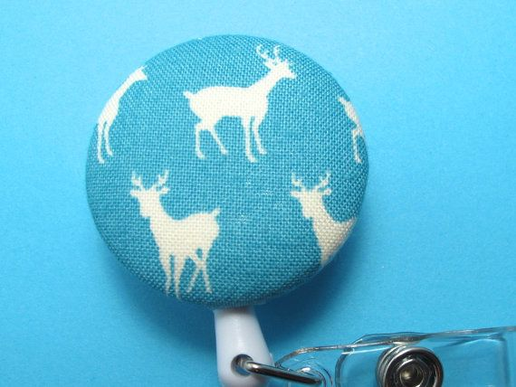 Teal Deer Name Badge Reel